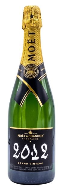 2012 Moet et Chandon Vintage Champagne Grand Vintage 750ml