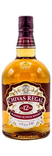Chivas Regal Blended Scotch Whisky 12 Year Old 1L